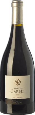 44,95 € Free Shipping | Red wine Perelada Aires de Garbet Reserva D.O. Empordà Catalonia Spain Grenache Bottle 75 cl
