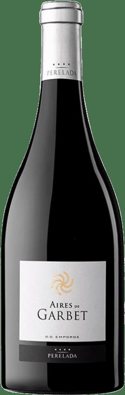 38,95 € Envío gratis | Vino tinto Perelada Aires de Garbet Reserva D.O. Empordà Cataluña España Garnacha Botella 75 cl