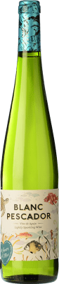 5,95 € Free Shipping | White wine Perelada Blanc Pescador Joven D.O. Empordà Catalonia Spain Macabeo, Xarel·lo, Parellada Bottle 75 cl. | Thousands of wine lovers trust us to get the best price guarantee, free shipping always and hassle-free shopping and returns.