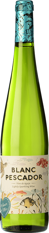 5,95 € Free Shipping | White wine Perelada Blanc Pescador Joven D.O. Empordà Catalonia Spain Macabeo, Xarel·lo, Parellada Bottle 75 cl