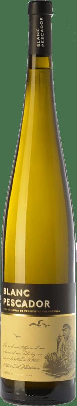 11,95 € Envío gratis | Vino blanco Perelada Blanc Pescador D.O. Empordà Cataluña España Macabeo, Xarel·lo, Parellada Botella Mágnum 1,5 L