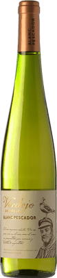 5,95 € Free Shipping | White wine Perelada Blanc Pescador D.O. Empordà Catalonia Spain Verdejo Bottle 75 cl. | Thousands of wine lovers trust us to get the best price guarantee, free shipping always and hassle-free shopping and returns.