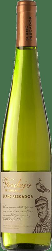 6,95 € Envío gratis | Vino blanco Perelada Blanc Pescador D.O. Empordà Cataluña España Verdejo Botella 75 cl