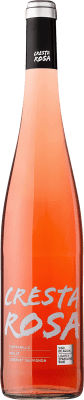 3,95 € Free Shipping | Rosé wine Perelada Cresta Rosa Joven D.O. Empordà Catalonia Spain Tempranillo, Grenache, Carignan Bottle 75 cl. | Thousands of wine lovers trust us to get the best price guarantee, free shipping always and hassle-free shopping and returns.