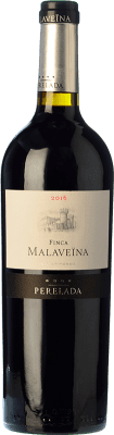 19,95 € Free Shipping | Red wine Perelada Finca Malaveïna Crianza D.O. Empordà Catalonia Spain Merlot, Syrah, Grenache, Cabernet Sauvignon, Cabernet Franc Bottle 75 cl. | Thousands of wine lovers trust us to get the best price guarantee, free shipping always and hassle-free shopping and returns.