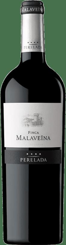 22,95 € Free Shipping | Red wine Perelada Finca Malaveïna Crianza D.O. Empordà Catalonia Spain Merlot, Syrah, Grenache, Cabernet Sauvignon, Cabernet Franc Bottle 75 cl