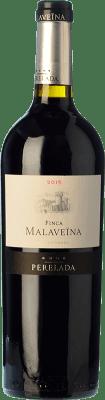 106,95 € Free Shipping | Red wine Perelada Finca Malaveïna Crianza 2010 D.O. Empordà Catalonia Spain Merlot, Cabernet Sauvignon, Cabernet Franc Jéroboam Bottle-Double Magnum 3 L