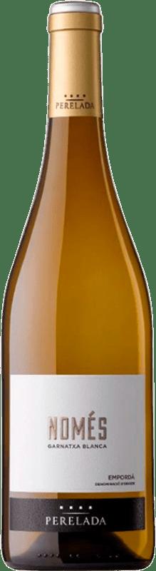 7,95 € Free Shipping | White wine Perelada Només Garnatxa Blanca D.O. Empordà Catalonia Spain Grenache White Bottle 75 cl