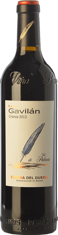 9,95 € Envío gratis | Vino tinto Pérez Pascuas Cepa Gavilán Crianza D.O. Ribera del Duero Castilla y León España Tempranillo Botella 75 cl