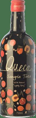 6,95 € Envío gratis | Sangría Pernod Ricard Queca Tinta España Botella 75 cl