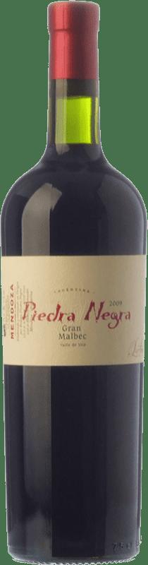 37,95 € Envío gratis | Vino tinto Piedra Negra Lurton Gran Crianza I.G. Mendoza Mendoza Argentina Malbec Botella 75 cl