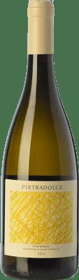 19,95 € Envío gratis | Vino blanco Pietradolce Bianco D.O.C. Etna Sicilia Italia Carricante Botella 75 cl