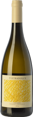 19,95 € Free Shipping | White wine Pietradolce Bianco D.O.C. Etna Sicily Italy Carricante Bottle 75 cl