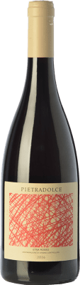 22,95 € Free Shipping | Red wine Pietradolce Rosso D.O.C. Etna Sicily Italy Nerello Mascalese Bottle 75 cl
