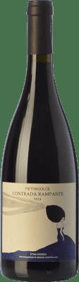 45,95 € Envío gratis | Vino tinto Pietradolce Rosso Rampante D.O.C. Etna Sicilia Italia Nerello Mascalese Botella 75 cl