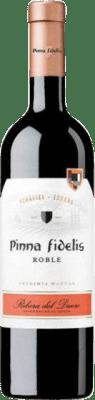 9,95 € Free Shipping | Red wine Pinna Fidelis Roble D.O. Ribera del Duero Castilla y León Spain Tempranillo Bottle 75 cl