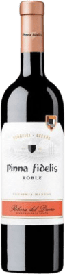 9,95 € Free Shipping | Red wine Pinna Fidelis Roble Joven D.O. Ribera del Duero Castilla y León Spain Tempranillo Bottle 75 cl