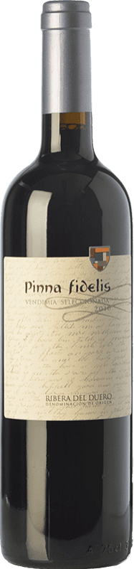 28,95 € Free Shipping | Red wine Pinna Fidelis Vendimia Seleccionada Crianza D.O. Ribera del Duero Castilla y León Spain Tempranillo Bottle 75 cl