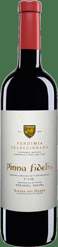 28,95 € Envío gratis | Vino tinto Pinna Fidelis Vendimia Seleccionada Crianza D.O. Ribera del Duero Castilla y León España Tempranillo Botella 75 cl