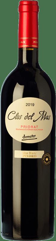 17,95 € Free Shipping | Red wine Pinord Clos del Mas Joven D.O.Ca. Priorat Catalonia Spain Grenache, Cabernet Sauvignon, Carignan Bottle 75 cl