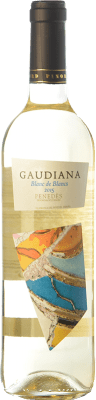 5,95 € Free Shipping | White wine Pinord Gaudiana Blanc de Blancs Joven D.O. Penedès Catalonia Spain Muscatel, Macabeo, Xarel·lo, Parellada Bottle 75 cl
