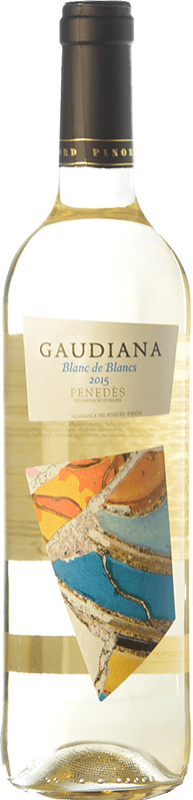 5,95 € Free Shipping   White wine Pinord Gaudiana Blanc de Blancs Joven D.O. Penedès Catalonia Spain Muscat, Macabeo, Xarel·lo, Parellada Bottle 75 cl