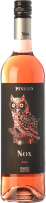 6,95 € Free Shipping | Rosé wine Pinord NOX Seducción Joven D.O. Penedès Catalonia Spain Tempranillo, Merlot, Cabernet Sauvignon Bottle 75 cl