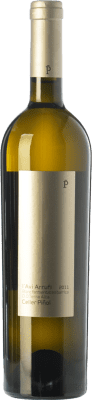 17,95 € Kostenloser Versand | Weißwein Piñol L'Avi Arrufi Blanc Fermentat en Barrica Crianza D.O. Terra Alta Katalonien Spanien Grenache Weiß Flasche 75 cl