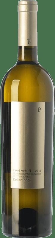17,95 € Envoi gratuit | Vin blanc Piñol L'Avi Arrufi Blanc Fermentat en Barrica Crianza D.O. Terra Alta Catalogne Espagne Grenache Blanc Bouteille 75 cl