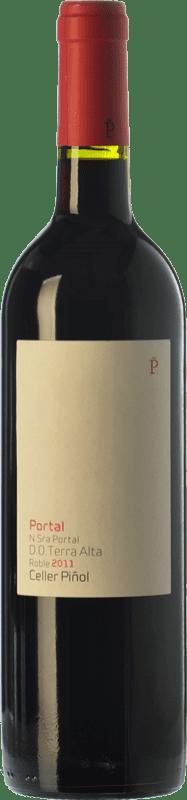 13,95 € Free Shipping | Red wine Piñol Nuestra Señora del Portal Joven D.O. Terra Alta Catalonia Spain Merlot, Syrah, Grenache, Carignan Bottle 75 cl