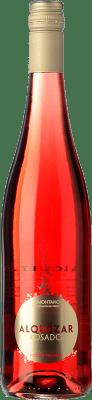 6,95 € Free Shipping | Rosé wine Pirineos Alquézar Joven D.O. Somontano Aragon Spain Tempranillo, Grenache Bottle 75 cl