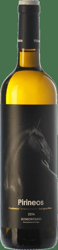 7,95 € Envío gratis   Vino blanco Pirineos D.O. Somontano Aragón España Chardonnay, Sauvignon Blanca, Gewürztraminer Botella 75 cl