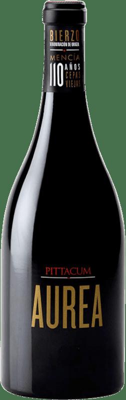 32,95 € Free Shipping | Red wine Pittacum Aurea Crianza D.O. Bierzo Castilla y León Spain Mencía Bottle 75 cl
