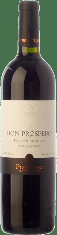 13,95 € Envoi gratuit | Vin rouge Pizzorno Don Próspero Joven Uruguay Merlot, Tannat Bouteille 75 cl