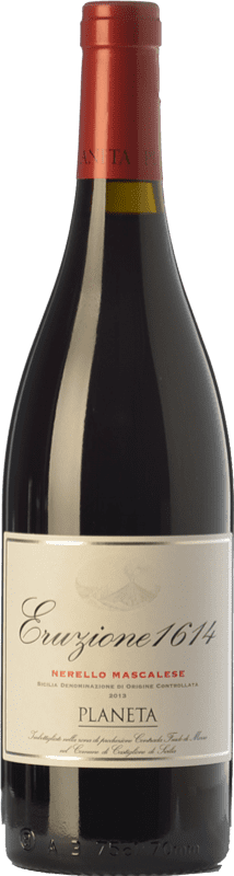 26,95 € Free Shipping   Red wine Planeta Eruzione 1614 I.G.T. Terre Siciliane Sicily Italy Nerello Mascalese Bottle 75 cl