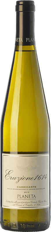 19,95 € Envoi gratuit | Vin blanc Planeta Eruzione 1614 I.G.T. Terre Siciliane Sicile Italie Carricante Bouteille 75 cl