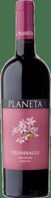 15,95 € Free Shipping | Red wine Planeta Plumbago I.G.T. Terre Siciliane Sicily Italy Nero d'Avola Bottle 75 cl