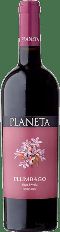 12,95 € Free Shipping   Red wine Planeta Plumbago I.G.T. Terre Siciliane Sicily Italy Nero d'Avola Bottle 75 cl