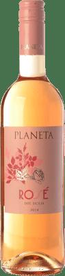 11,95 € Free Shipping | Rosé wine Planeta Rosé I.G.T. Terre Siciliane Sicily Italy Syrah Bottle 75 cl