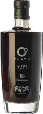 16,95 € Free Shipping | Herbal liqueur Platu Licor de Café Galicia Spain Bottle 70 cl