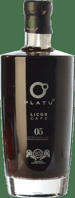 15,95 € Kostenloser Versand | Kräuterlikör Platu Licor de Café Galizien Spanien Flasche 70 cl