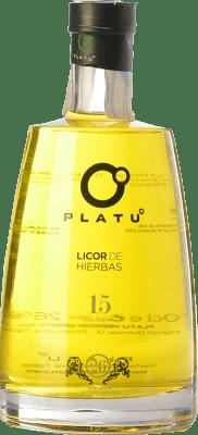 16,95 € Free Shipping | Herbal liqueur Platu Galicia Spain Bottle 70 cl