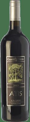 51,95 € Free Shipping | Red wine Guado al Melo Atis Superiore D.O.C. Bolgheri Tuscany Italy Merlot, Cabernet Sauvignon, Cabernet Franc Bottle 75 cl