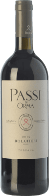 33,95 € Free Shipping | Red wine Podere Orma Passi I.G.T. Toscana Tuscany Italy Merlot, Cabernet Sauvignon, Cabernet Franc Bottle 75 cl