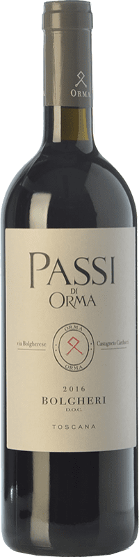 22,95 € Free Shipping   Red wine Podere Orma Passi I.G.T. Toscana Tuscany Italy Merlot, Cabernet Sauvignon, Cabernet Franc Bottle 75 cl