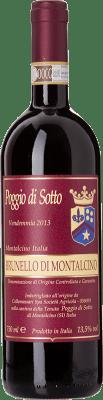 164,95 € Free Shipping | Red wine Poggio di Sotto D.O.C.G. Brunello di Montalcino Tuscany Italy Sangiovese Bottle 75 cl