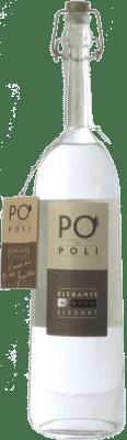 38,95 € Envío gratis | Grappa Poli Pinot Veneto Italia Botella 70 cl