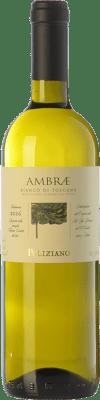 15,95 € Kostenloser Versand | Weißwein Poliziano Ambrae I.G.T. Toscana Toskana Italien Chardonnay, Sauvignon Flasche 75 cl