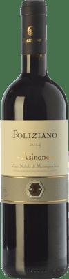 56,95 € Kostenloser Versand | Rotwein Poliziano Asinone D.O.C.G. Vino Nobile di Montepulciano Toskana Italien Merlot, Sangiovese, Colorino Flasche 75 cl