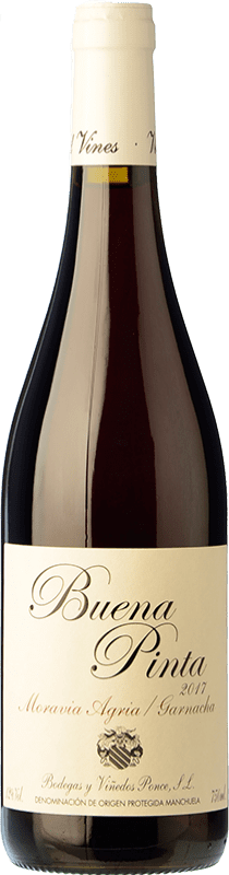 16,95 € Envío gratis   Vino tinto Ponce Buena Pinta Joven D.O. Manchuela Castilla la Mancha España Garnacha, Moravia Agria Botella 75 cl